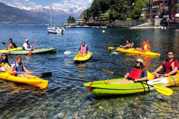 HIKE & KAYAK Adventure in Varenna, Lake Como