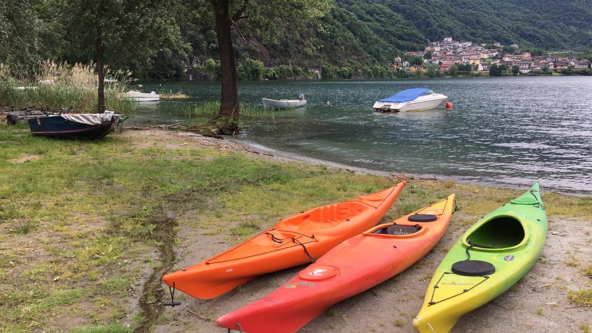 San Fedelino in KAYAK